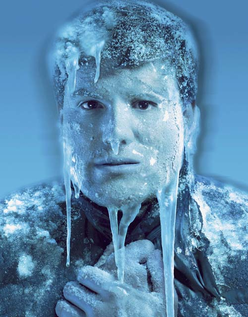 Michael Mall... Man Frozen In Ice Alive
