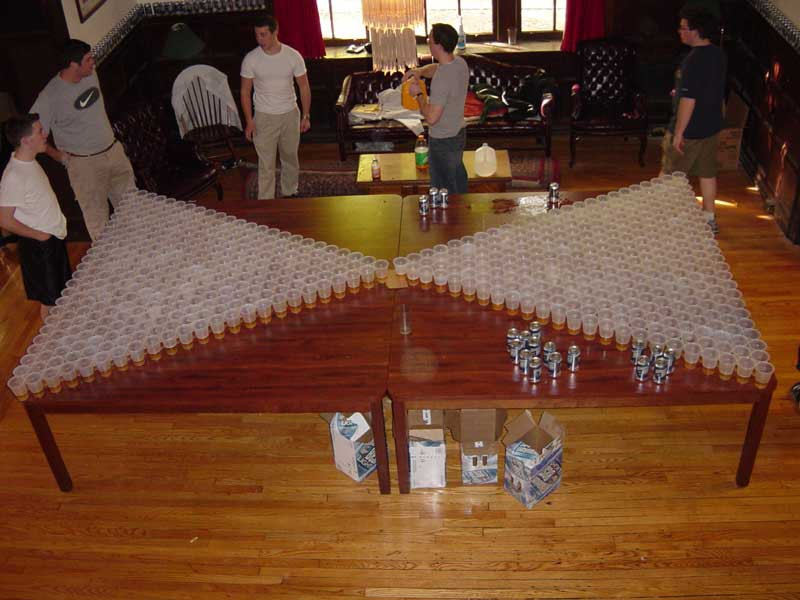 the history of beer pong part two the rules america. Black Bedroom Furniture Sets. Home Design Ideas