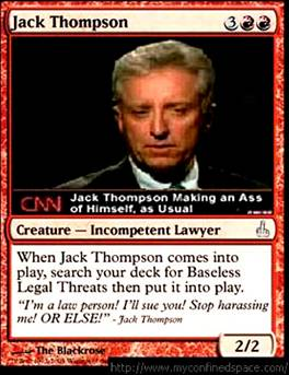 Image result for jack thompson controversy