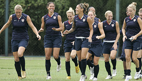 Usa Soccer Team Women [REDACTED] Watches the...
