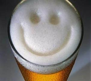 smiley beer