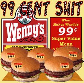 Affotddont Fuck With Wendyscherkeeswendys 99 Cent Shitcherkees Logodestroyed Sills