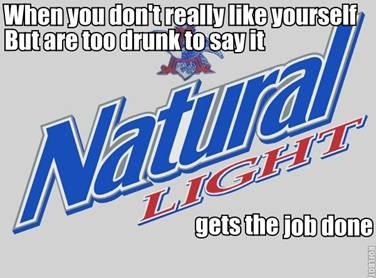 Natty Light is poison
