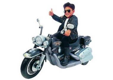 motorbike kid
