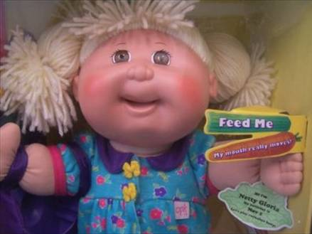 snack time cabbage patch
