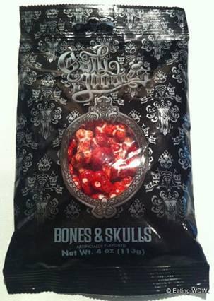bones and skulls candy