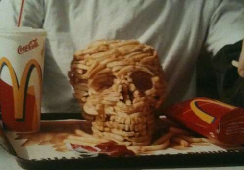 skull french fries