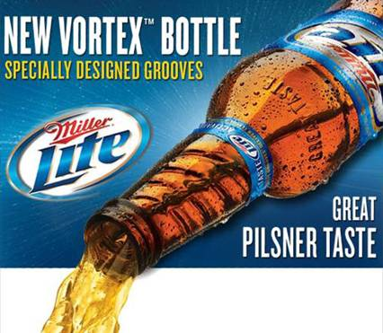 Image result for miller lite vortex bottle""
