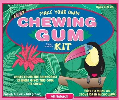 chewing gum kit