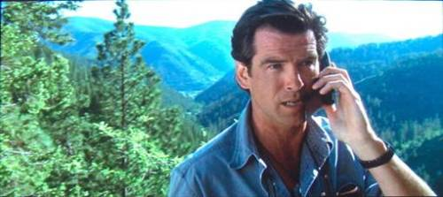 pierce brosnan talking to volcanos like a fucking boss