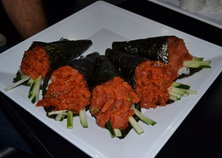 Bushido Spicy Tuna Roll Challenge- 250,000+ Scoville Heat Units