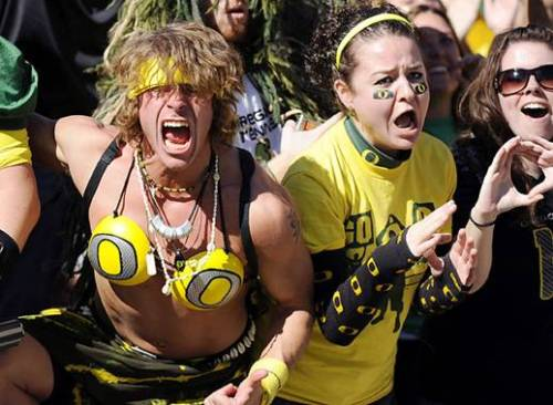 drunk oregon fans