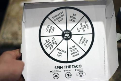 spin the taco