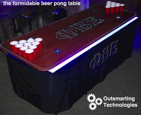 formidable beer pong table