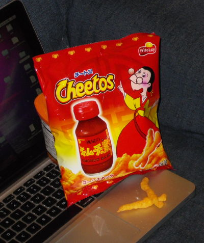 hot sauce cheetos