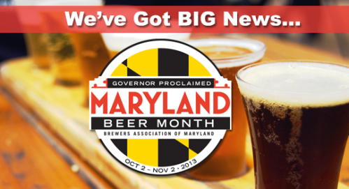 maryland beer month