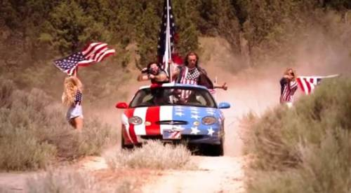AMERICAN FLAG CAR YOU SON OF A BITCH