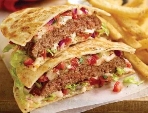 applebees quesadilla burger
