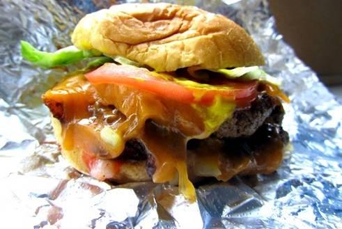 messy burger