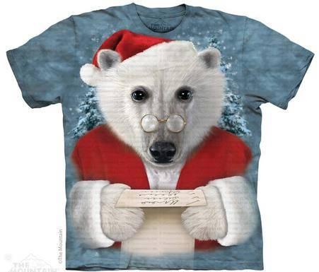 santa polar bear mountain
