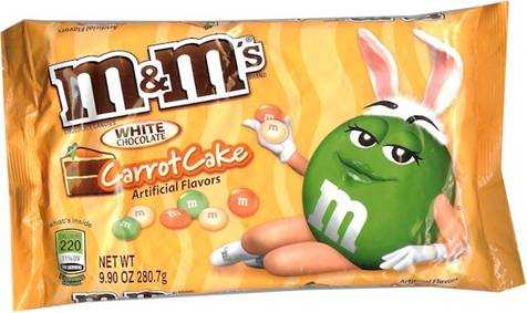 Carrot Cake Flavored M M S