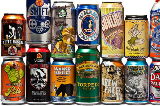 Craft Beer Cans List