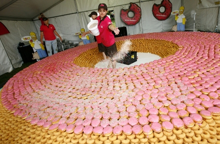 sea of donuts