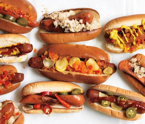 Gourmet Hot Dogs And Beans Recipe
