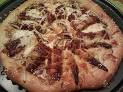 eel pizza