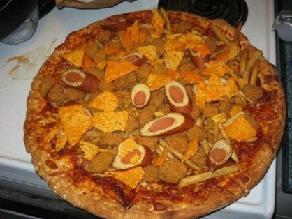 the hell is this pizza