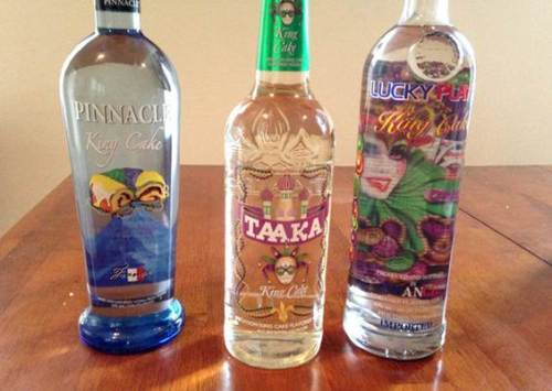 king cake vodka