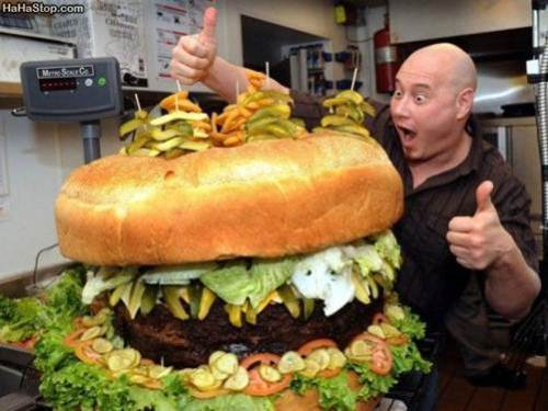 thats a giant burger