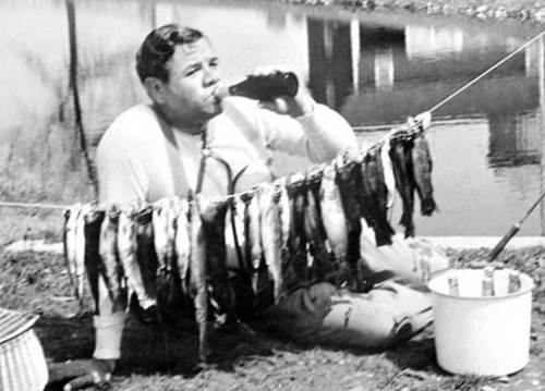 babe ruth drinking