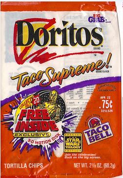 taco supreme doritos
