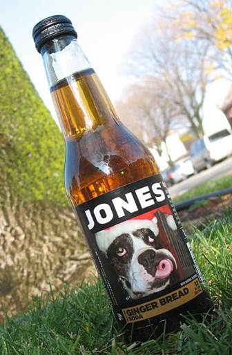 jones gingerbread soda