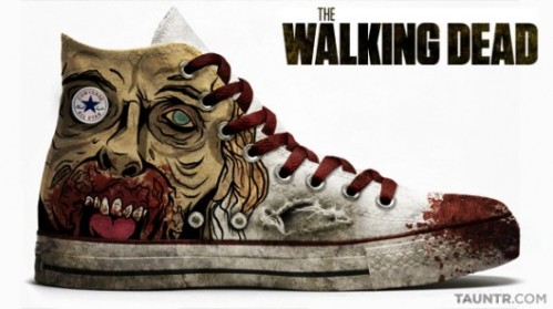 walking dead shoe