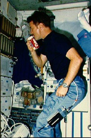 coke in space no not THAT kind of coke
