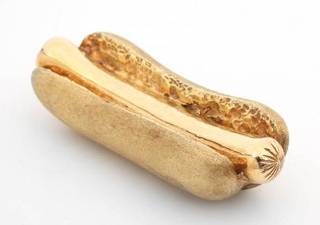 golden hot dog
