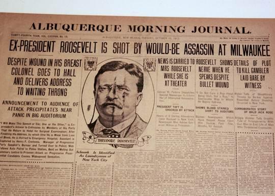 roosevelt newspaper