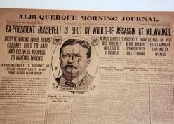 The Teddy Roosevelt Assassination Attempt of 1912 | America Fun Fact of the  Day