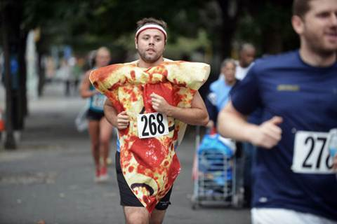 pizza race