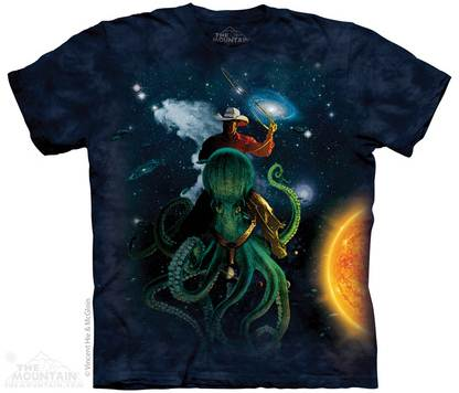 octopus cowboy space sure fuck it burn it all