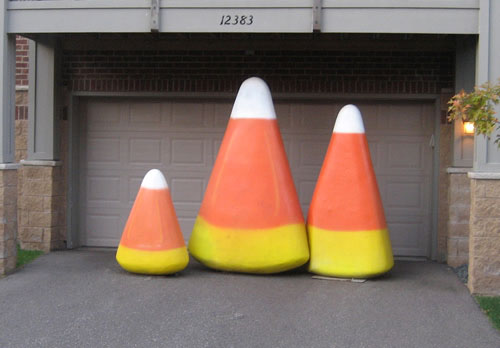 giant candy corn
