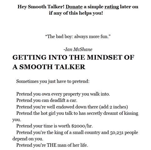 intro to book smooth talker