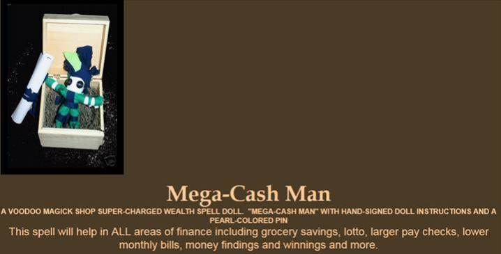 mega cash man