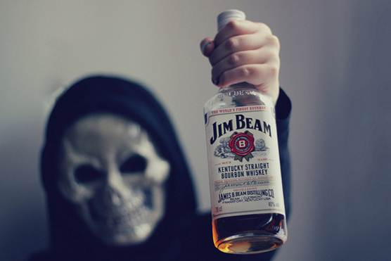 death with jim beam