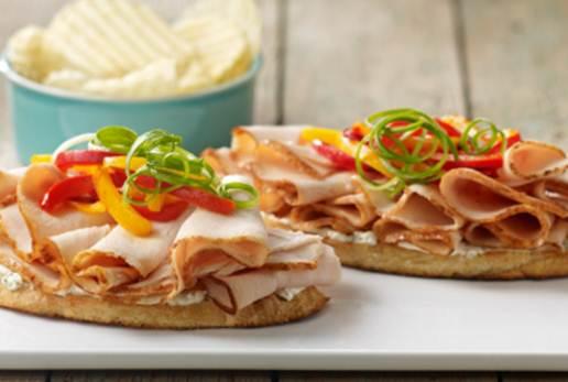 open face sandwich