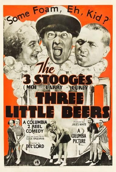 three little beers three stooges