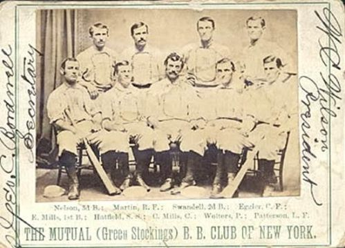 mutual base ball club