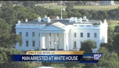man arrested at white house